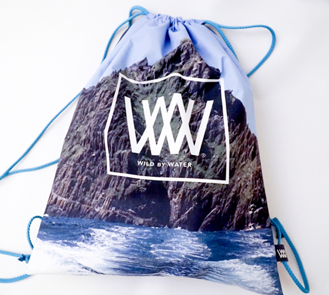 "Wild By Water Bags - Waterproof Day Pack ""Skellig jedi Rock"""