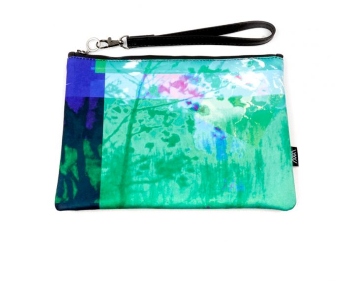 Fashion clutch bag– Dream Waters Blue by Wild by Water