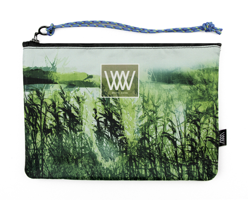 Wild by Water's Sporty Waterproof Clutch - Wild Estuary