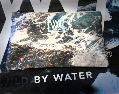 Wild By Water Clutch – SeaWeed