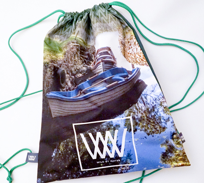 "Wild By Water Bags - Waterproof Day Pack ""Glasson Boats"""