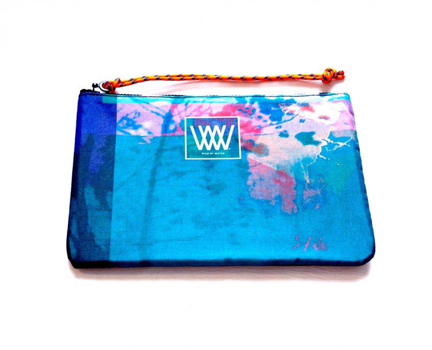 "Wild By Water Bags - Wild By Water Sporty Water-resistant Clutch ""Dream Waters"""