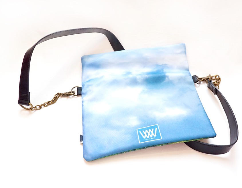 Wild by Water Folded Clutch Bluebells