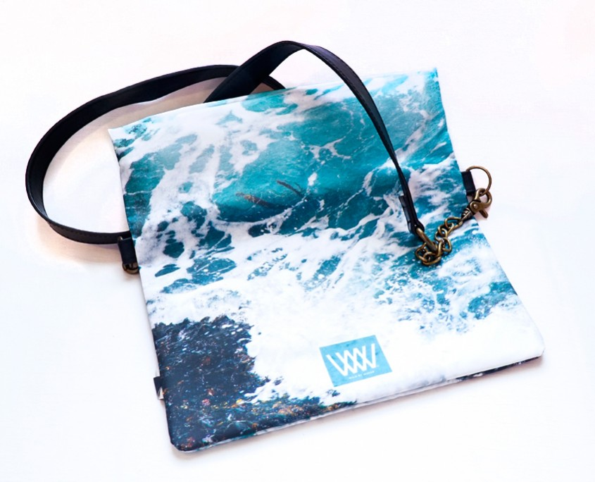 Wild by Water Waterproof Folded Clutch