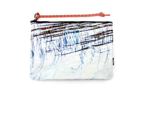 Waterproof bag /clutch – Lake Reflections
