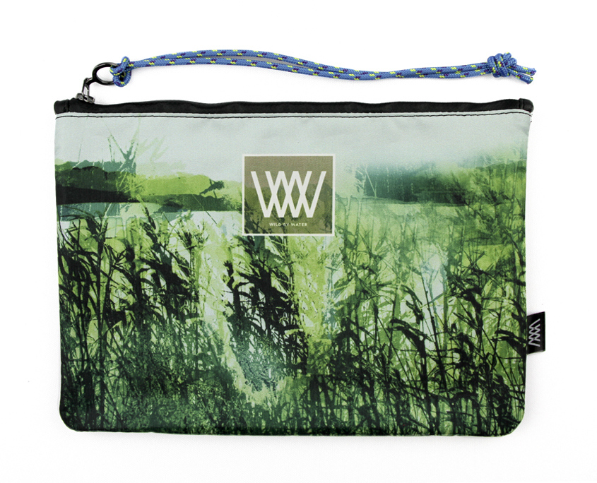 Waterproof bag /clutch – Wild Esturary