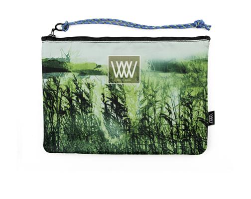 Waterproof bag /clutch – Wild Estuary