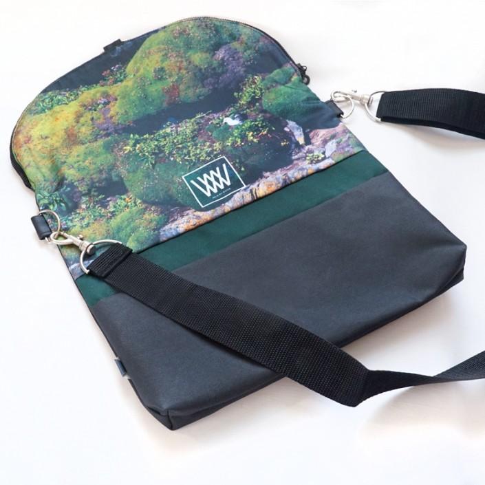 Waterproof crossbody / backpack - Gull