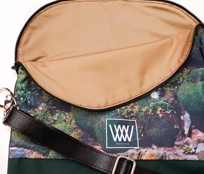 Waterproof crossbody / backpack - Gull Detail