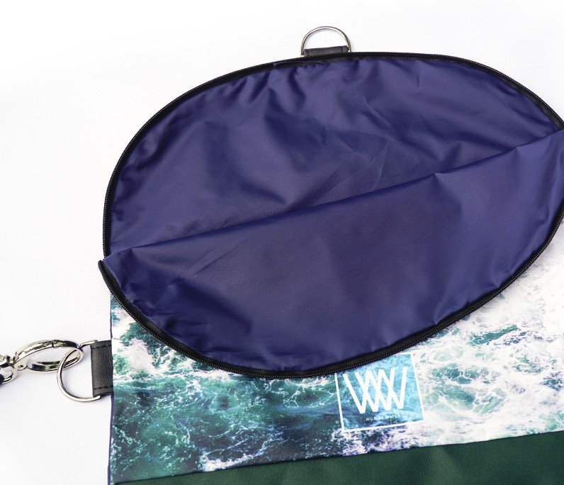 Waterproof cross-body / backpack -waterproof lining