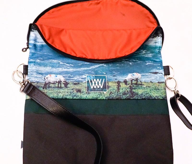 Waterproof cross-body / backpack -Wild Sheep