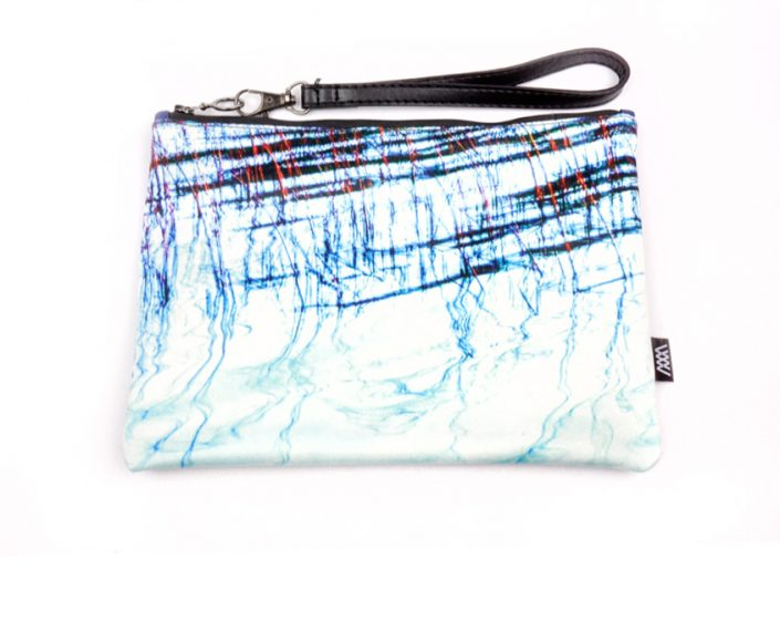 Fashion clutch bag– Lake Reflections by Wild by Water