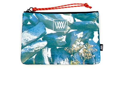 Wild by Water Sporty Clutch - Drystone Wall