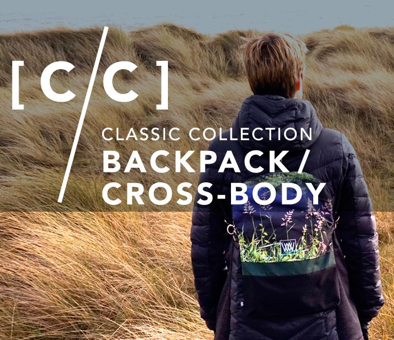 Wild by Water Backpack / Cross-body