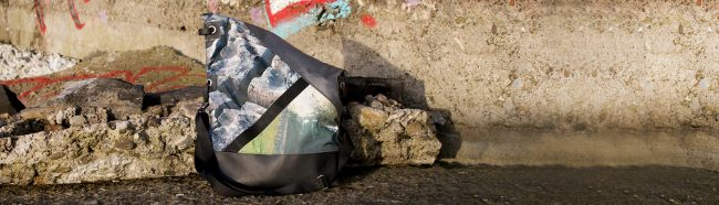 Wild by Water Large Messenger - Flaggy Shore