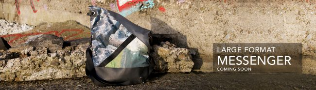 Wild by Water Large Format Messenger Bag