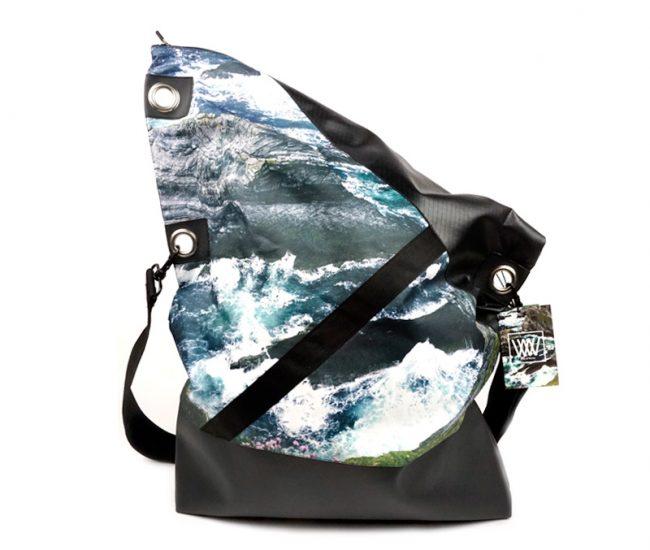 Wild by Water Messenger bag - Sea Cliffs