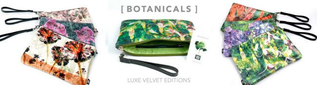 Wild by Water Botanicals Luxe Velvet Pouch Collection