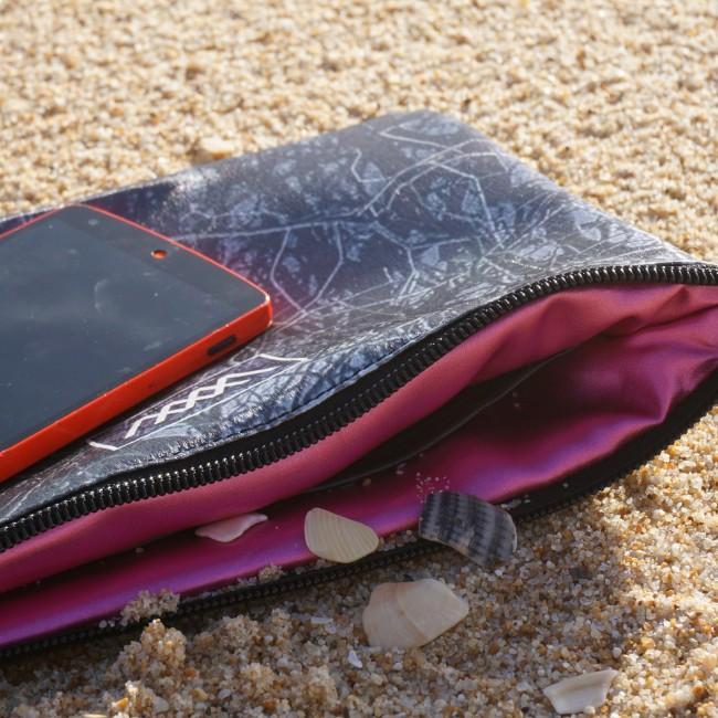 "Waterproof bag-clutch ""Water Trees"" by Wild By Water"