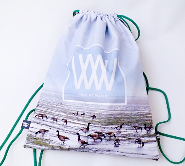 "Wild By Water Bags - Waterproof Day Pack ""Brent Geese"""