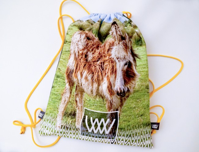 """Wild By Water Bags - Waterproof Day Pack """"Achill Donkey"""""""