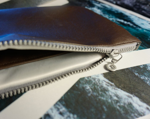 Waterproof bag-clutch