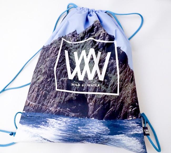 """Wild By Water Bags - Waterproof Day Pack """"Skellig jedi Rock"""""""