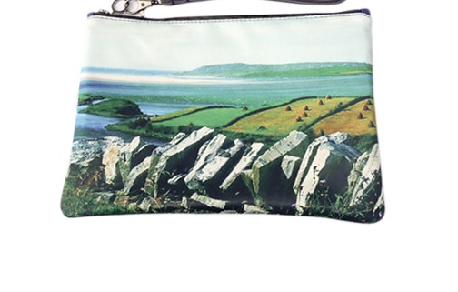 "Wild By Water Bags - Wild By Water Fashion Clutch ""Donegal Drystone"""