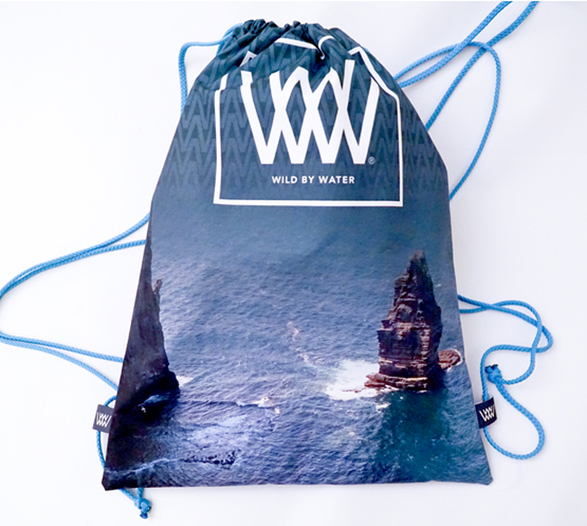 "Wild By Water Bags - Waterproof Day Pack ""Moher Seastack"""