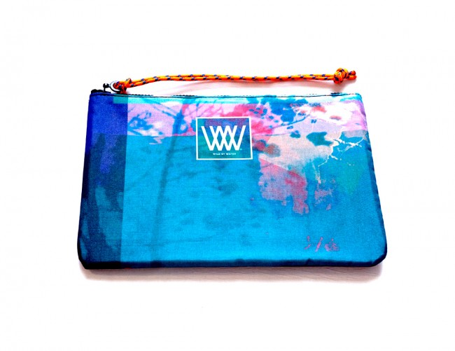 """Wild By Water Bags - Wild By Water Sporty Water-resistant Clutch """"Dream Waters"""""""