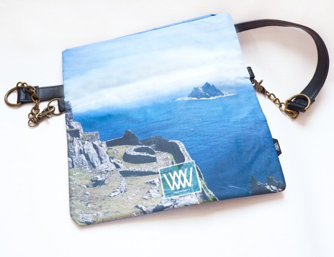 Wild by Water Folded Clutch Skellig View