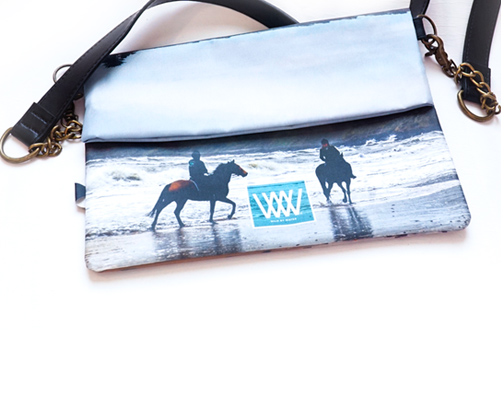 Wild by Water Bags - Wild by Water Over-the-shoulder Folded Clutch – Beach Riders