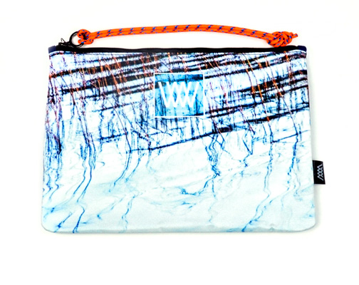 Wild by Water Sporty Clutch Lake Reflections