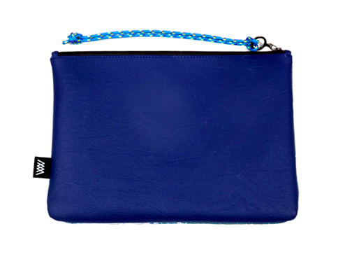 Wild by Water Sporty Clutch Seabird Swirl reverse