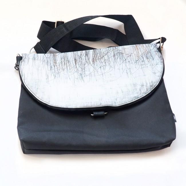 Waterproof crossbody / backpack - Ice Reeds