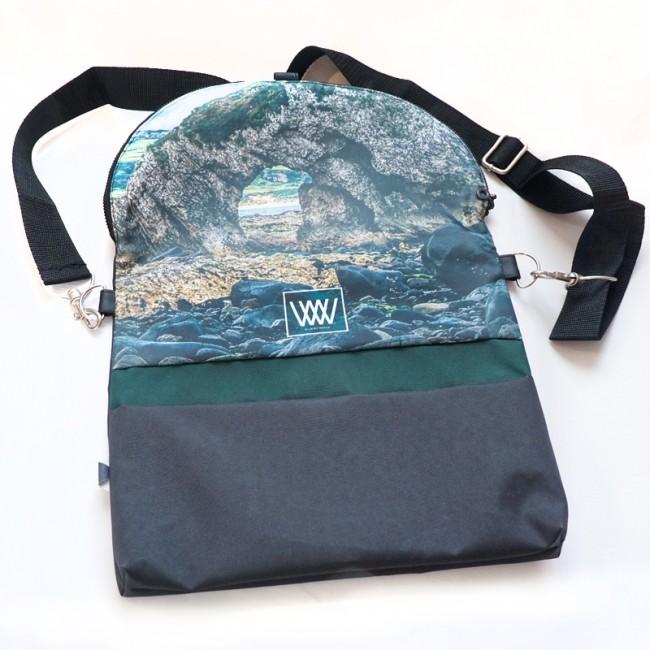 Waterproof cross-body / backpack -Northern Rock