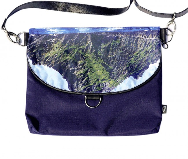 Waterproof crossbody / backpack - folded Skellig