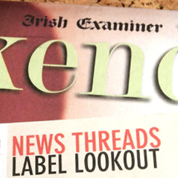 Label Lookout – Wild by Water feature in the Irish Examiner