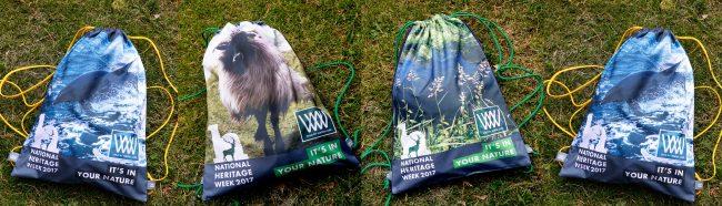 Heritage Week   Wild by Water bags x 3