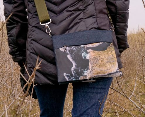 Wild by Water Waist and Shoulder bag - X-body